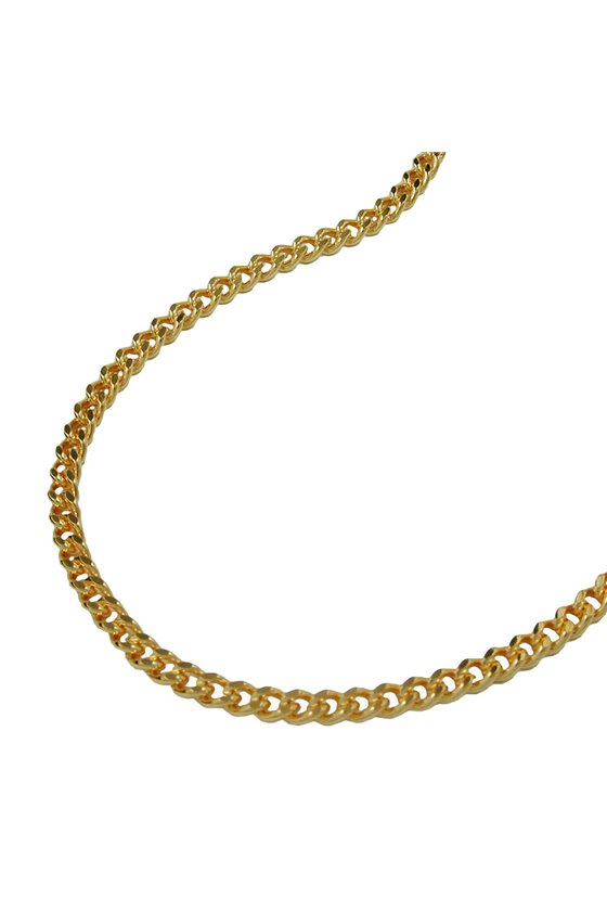 BELLY CHAIN CURB CHAIN GOLD PLATED