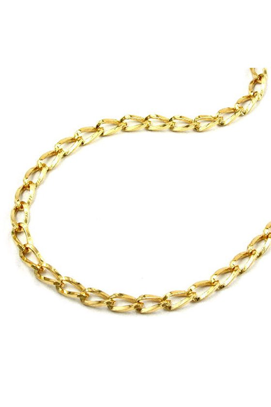 BELLY CHAIN GOLD PLATED (OPEN CURB CHAIN)