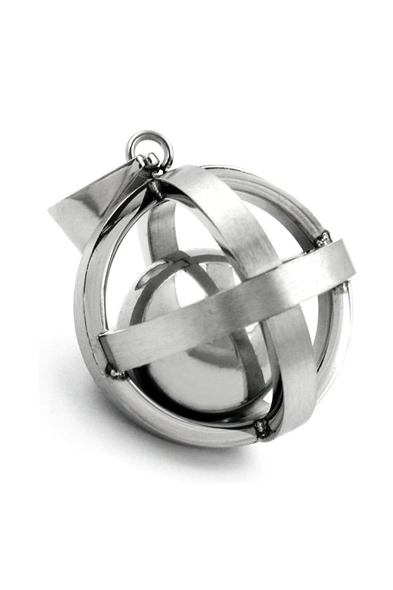 PENDANT CAGED BALL STAINLESS STEEL